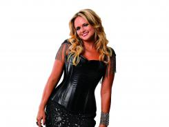Miranda Lambert poses for a portrait before performing at the 2012 CMA Music Festival concert at LP Field.