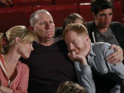 Julie Bowen, Ed O'Neill, Jesse Tyler Ferguson and Reid Ewing of ABC's 'Modern Family.'
