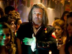 "Alec Baldwin as legendary rock club owner Dennis Dupree in the upcoming musical 'Rock of Ages.' ""I never had that rock star dream myself,"" admits Baldwin."
