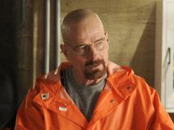 In Robert Bianco's dream ballot, 'Breaking Bad' is up for best drama, best actor in a drama (Bryan Cranston, pictured), best supporting actor in a drama (Aaron Paul) and best supporting actress in a drama (Anna Gunn).
