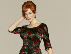 'Mad Men' star Joan (Christina Hendricks) perfects her pucker with Nars' Pop Live velvet matte lip pencil.