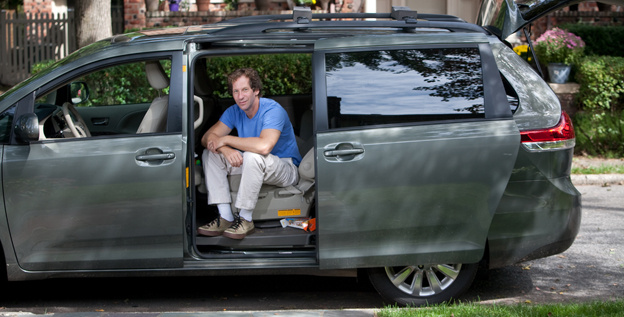 """It's like driving around in your living room,"" says Dan Zevin, author of 'Dan Gets a Minivan: Life at the Intersection of Dude and Dad.'"