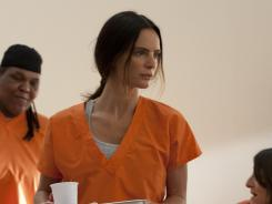 Fiona (Gabrielle Anwar) faces prison on 'Burn Notice,' which returns tonight on USA.