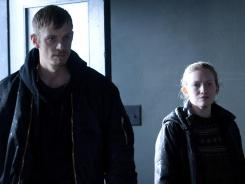 Stephen Holder (Joel Kinnaman) and Sarah Linden (Mireille Enos) investigate a murder in the conclusion of 'The Killing' Sunday at 9 p.m. ET/PT