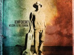Kenny Chesney collaborates with artists including Tim McGraw and Grace Potter on 'Welcome to the Fishbowl.'