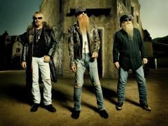 Frank Beard, left, Billy Gibbons and Dusty Hill of ZZ Top have a new EP, 'Texicali,' their first studio release in nine years.