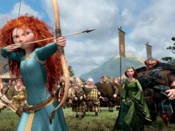 The animated fairy tale 'Brave,' Pixar's 13th movie, hits theaters Friday.