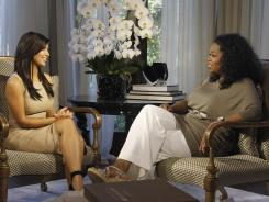 On Sunday's 'Oprah's Next Chapter,' Kim Kardashian answered questions about her sex tape leaked in 2007 (made with singer Ray J in 2003).