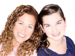 "Jodi Picoult and Samantha Van Leer, 16, worked side by side on the book, but Picoult ""did more of the typing because I type faster."""