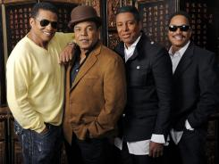 Jackie, Tito, Jermaine and Marlon Jackson are preparing for their return to the stage as The Jacksons.