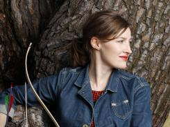 Her aim is true, just not in real life: Kelly MacDonald is an amateur as an archer but a pro as the voice of the first female Pixar hero, Princess Merida of 'Brave.'