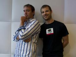 Trey Parker and Matt Stone, the creators of 'South Park,' were threatened by a man who was offended by an episode of the animated series.