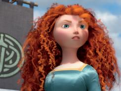 The heroine Merida led Pixar's latest animated tale to a cool 66.7 million in its debut at the box office.