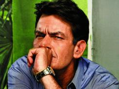 "Charlie Sheen stars as a therapist named — surprise! — Charlie in 'Anger Management.' ""I promise the world this will be the last thing I do where my name is Charlie,"" he says."