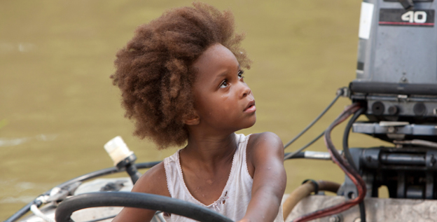 "Command performance: Quvenzhane Wallis as Hushpuppy in 'Beasts of the Southern Wild.' ""She is a miraculous human being,"" says director Benh Zeitlin."