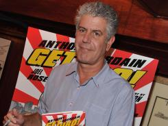 Bourdain's 'Get Jiro!' arrives in comic shops Wednesday and in bookstores next Tuesday.