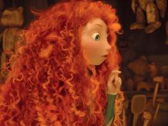 """We've never seen anything like Merida's curly hair,"" says Claudia Chung, the movie's simulation supervisor. ""That was incredibly hard to achieve."""