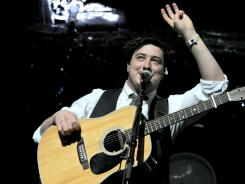 Marcus Mumford and his Mumford & Sons bandmates are part of the new music-themed documentary 'Big Easy Express.'