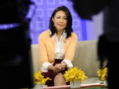 "Ann Curry, shown here in 2011, says she now has ""some fancy new titles."""