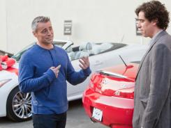 Meta Matt: Matt LeBlanc, left, with Stephen Mangan, plays a fictionalized version of himself on Showtime's Episodes.