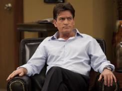 The Charlie that Sheen plays in 'Anger Management' is less amusing than the one Chuck Lorre created for Sheen in 'Two and a Half Men.'