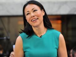 """In journalism school, you never take a class on what to do when you're the focus of the story,"" Ann Curry says of recent buzz surrounding her 'Today' show departure."