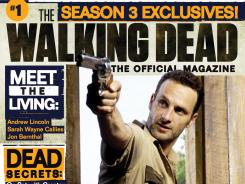 Comic creator Robert Kirkman expands his Walking Dead empire with a magazine launch this fall.