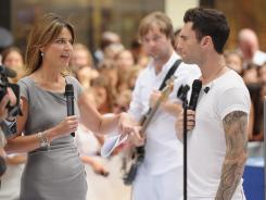 How did Savannah Guthrie do on Day 1 as 'Today' co-host?