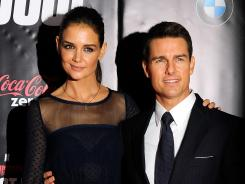 Big mess?: The divorce of Katie Holmes and Tom Cruise could turn nasty, some legal experts say, especially when it comes down to their 6-year-old daughter Suri.