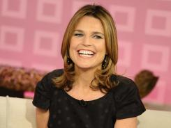 NBC's 'Today' show anointed Savannah Guthrie as its new co-host Friday.