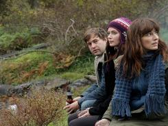 Mark Duplass, left, Emily Blunt and Rosemarie DeWitt star in the graceful and charming 'Your Sister's Sister.'