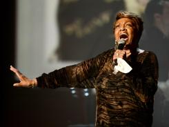 Singer Cissy Houston performs onstage during the 2012 BET Awards at The Shrine Auditorium on July 1.