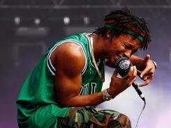 With all the problems hurting poor neighborhoods, 'freedom ain't free,' says rapper Lupe Fiasco.