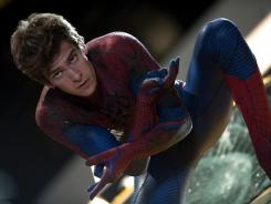 Same neighborhood, new Spider-Man: Andrew Garfield takes on the titular role in the franchise reboot 'The Amazing Spider-Man.'