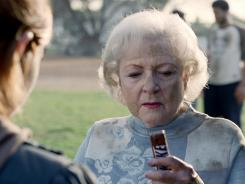 Snickers has tapped older stars such as Betty White to star in humorous ads.