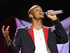 Trey Songz performs at the Essence Music Festival in New Orleans on Friday.