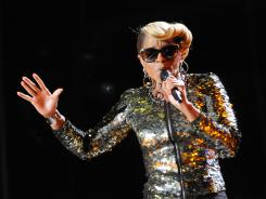 Mary J. Blige performs at the Essence Music Festival on Saturday in New Orleans.