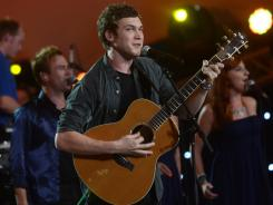 Phillip Phillips made his post-'Idol' debut at the Independence Day concert 'A Capitol Fourth.'