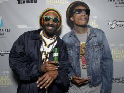 'Mac and Devin Go to High School' starring Snoop Dogg, left, and Wiz Khalifa is this week's Platinum Pick.