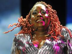 Ledisi performs at the Essence Music Festival in New Orleans.
