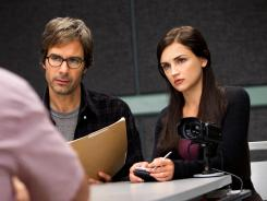It's all in his head: Daniel (Eric McCormack) has hallucinations that help FBI agent Kate (Rachael Leigh Cook) solve cases.
