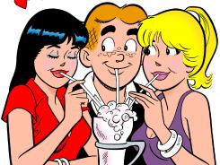 Archie and the gang will be joined by the 'Glee' crew in a 2013 crossover comic book.