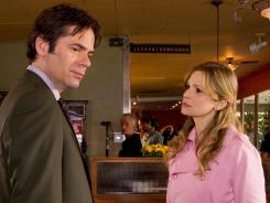 Brenda Leigh Johnson (Kyra Sedgwik) confronts her nemesis Philip Stroh (Billiy Burke) in 'The Closer.'