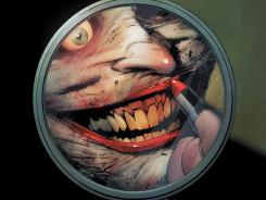 Looking a little different than usual, the Joker returns to pester Batman again this October.