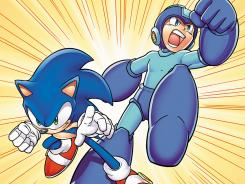 Video-game icons Sonic the Hedgehog and Mega Man team up for an Archie Comics crossover next year.