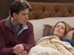 Are viewers over the Charlie Sheen curiosity factor? 'Anger Management' dropped 38% from last week.
