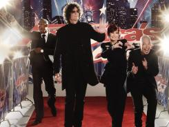 As a judge on 'America's Got Talent,' Howard Stern (second from left, with Nick Cannon, Sharon Osbourne and Howie Mandel) has proven he has the talent to judge.