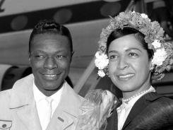 "Nat ""King"" Cole and his wife, Maria Hawkins Cole, were musical partners as well as husband and wife."