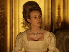 Fit for a Queen: Diane Kruger stars as Marie Antoinette in the beautiful French period drama 'Farewell, My Queen.'