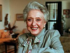 Broadway and film star Celeste Holm, 95, died Sunday at her home in New York City.